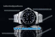 Rolex Sea-Dweller Swiss ETA 2836/Super Swiss ETA 2836/Rolex 3235 Automatic Steel Case/Bracelet with Black Dial White Dot Markers - 1:1 Original (BP)