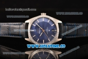 Omega Constellation Globemaster Co-Axial Master Clone Omega 8900 Automatic Steel Case with Blue Dial and Stick Markers (KW)